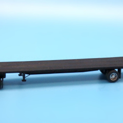 Modern 48ft spread axle flatbed trailer
