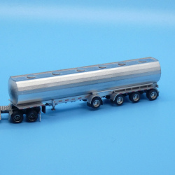 Modern 48 foot quad axle food grade tanker