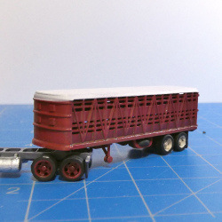 1940s - 50s Cattle trailer based on an old Freuhoff trailer