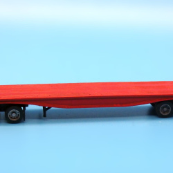 1950s-Present 40ft fishbelly flatbed trailer