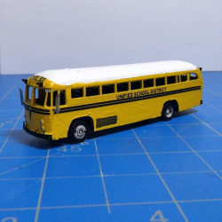 1950s - 80s Crown Supercoach School Bus (decals included)