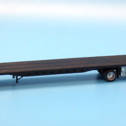 Modern 53ft spread axle flatbed trailer