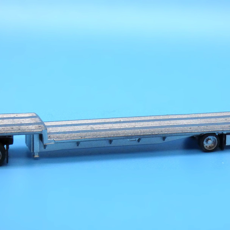 Modern 48ft step deck flatbed trailer