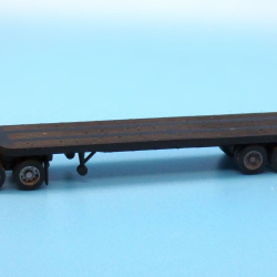 1950s-60s era 35ft flatbed trailer
